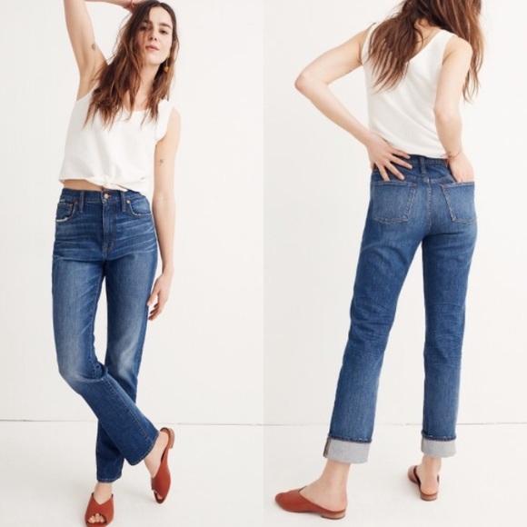38f2fc0cd0094 Madewell Denim - MADEWELL Tall High Rise Slim Boy Jean